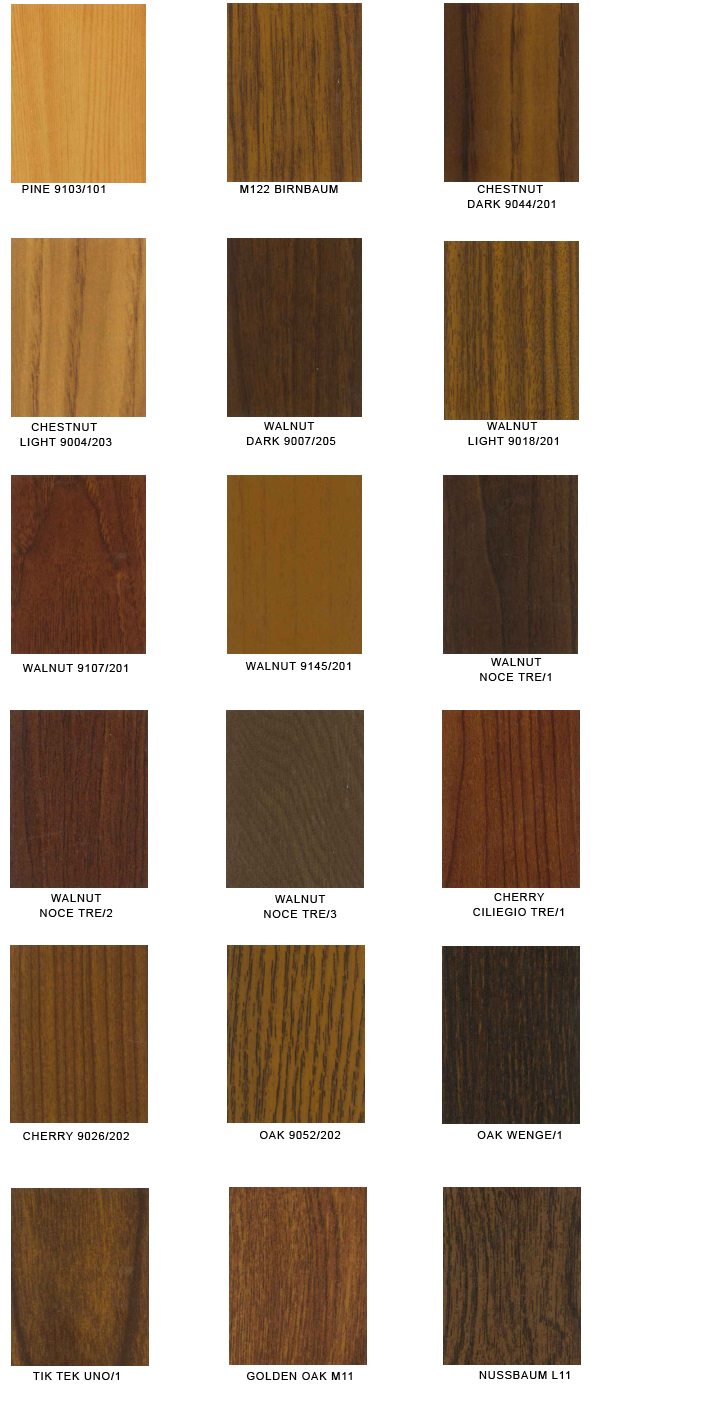 colorpalette wood en
